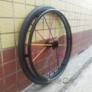 Spinergy multi color wheel