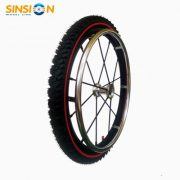 "24"" off road wheelchair wheel"