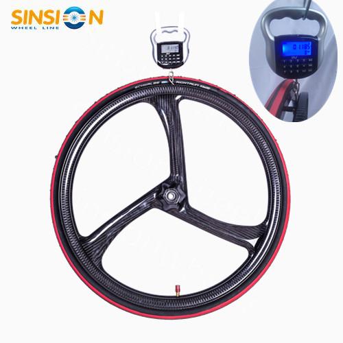 "24"" ultralight carbon fiber wheelchair wheel"