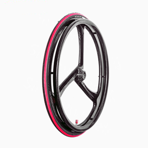 ultralight weight carbon fiber wheelchair wheel